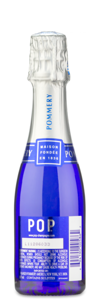 Pommery POP Champagne Minis - Winery Back
