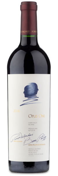 2014 Opus One - Winery Front Label