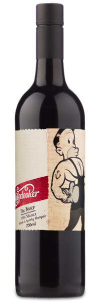 "2016 Mollydooker ""The Boxer"" Shiraz - Winery Front Label"
