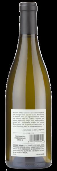 2016 Hanzell Vineyards Sebella Chardonnay - Winery Back Label