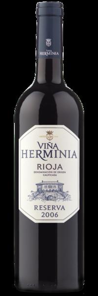2006 Viña Herminia Rioja Reserva - Winery Front Label