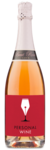 Segura Viudas Cava Brut Rosé - Labeled
