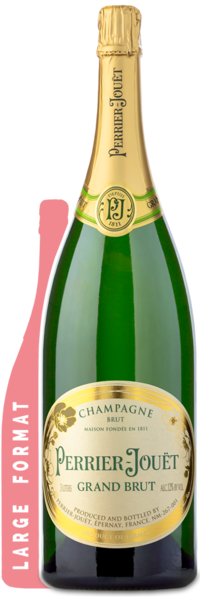 Perrier Jouet Grand Brut | 3L - Winery Front label