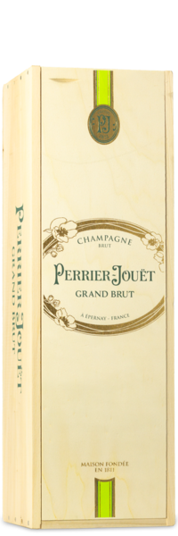 Perrier Jouet Grand Brut | 3L - Original Wine Crate
