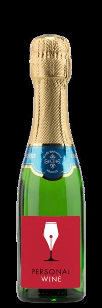 Mini Champagne Bottles - Charles de Fere Blanc de Blancs NV - Label