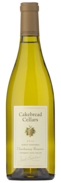 Cakebread Cellars Chardonnay Reserve - Winery Front Label