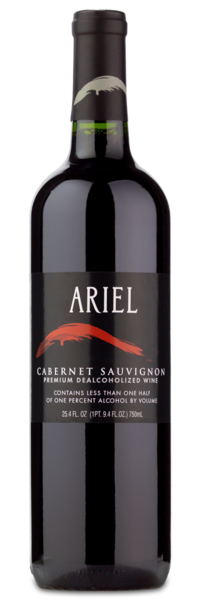Ariel Vineyards Cabernet Sauvignon - Winery Front Label