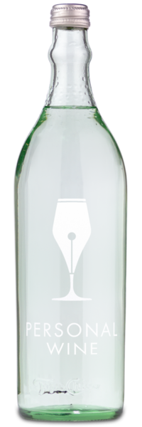 Topo Chico Mineral Water - Engraved Example