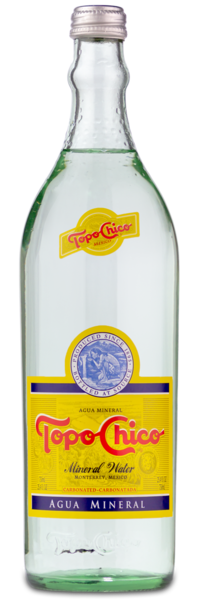Topo Chico Mineral Water - Original Front Label