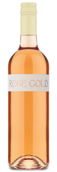 Rose Gold Rosé - Winery Front Label