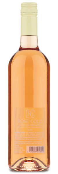 Rose Gold Rosé - Winery Back Label
