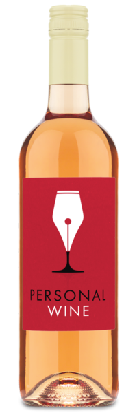 Rose Gold Rosé - Labeled Example
