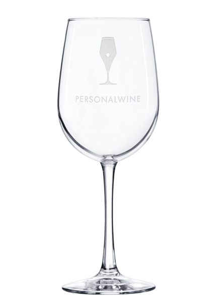 Custom-Etched Red Wine Glass
