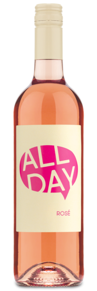 All Day Rosé - Winery Front Label