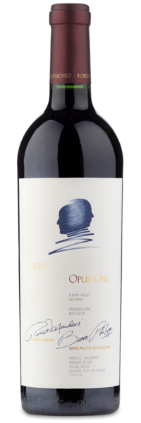 2007 Opus One - Winery Front Label