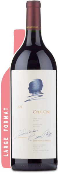 2011 Opus One Magnum - Winery Front Label