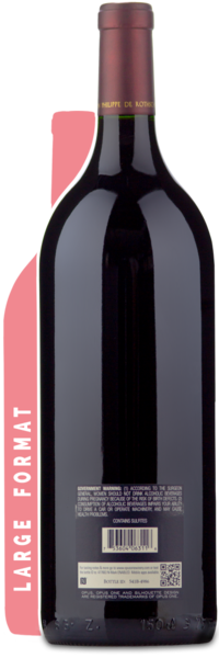 2011 Opus One Magnum - Winery Back Label