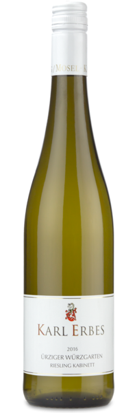 Karl Erbes Riesling Kabinett Urziger Wurzgarten Mosel - Winery Front Label
