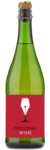 Val de France Sparkling Apple - Labeled Example