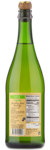 Val de France Sparkling Apple - Back Label