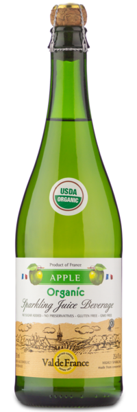 Val de France Sparkling Apple - Front Label