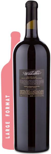 2014 Wildcatter Mt. Veeder Cabernet Double Magnum | 3L - Winery Back Label