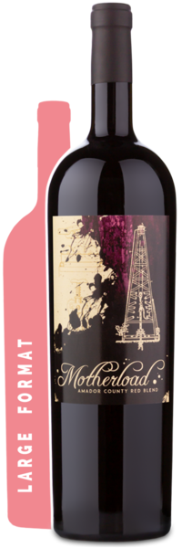 2016 Motherload Red Blend Magnum - Winery Front Label