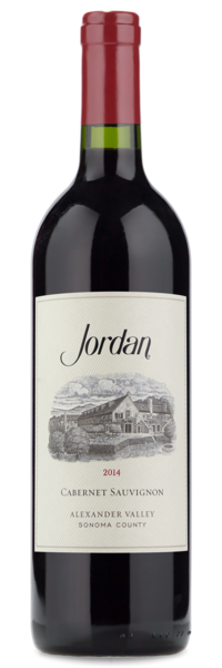 2014 Jordan Alexander Valley Cabernet Sauvignon - Winery Front Label