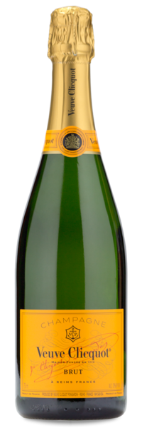 Veuve Clicquot Ponsardin Brut Champagne - Wine Gift Front