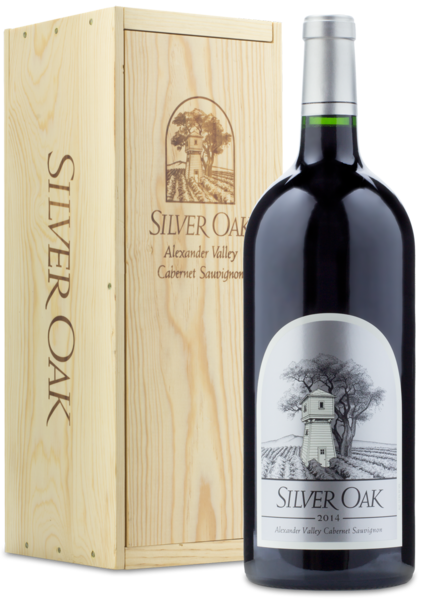 2014 Silver Oak Alexander Valley Cabernet Sauvignon | 3L - Bottle and Box