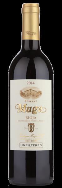 2014 Bodegas Muga Rioja Reserva - WInery Front Label