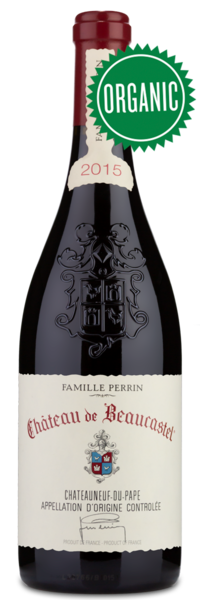 2015 Château de Beaucastel Châteauneuf-du-Pape - Winery Front Label
