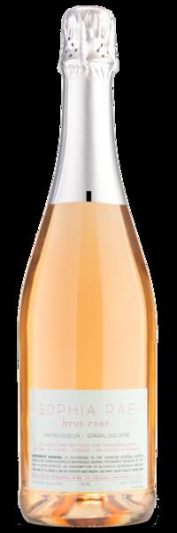 Sophia Rae Brut Rosé - Winery Back