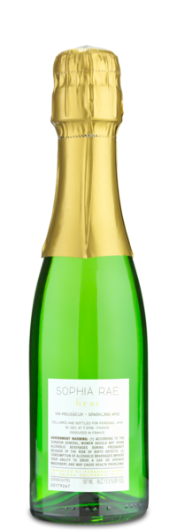 Sophia Rae Brut Minis - Winery Back
