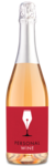 Sophia Rae Brut Rosé - Labeled Example