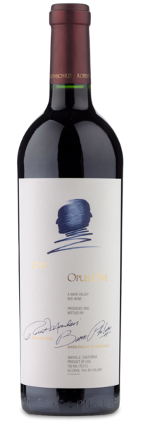 2015 Opus One Napa Valley - Winery Front Label