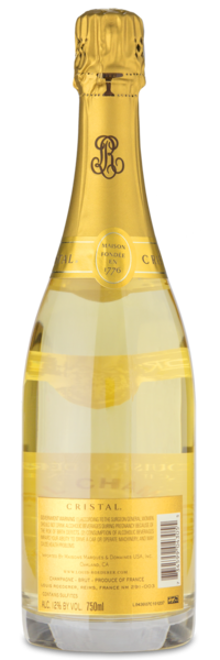 Louis Roederer Cristal - Winery Back