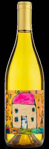 2018 Rushing River California Chardonnay - Labeled Example