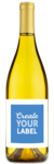 2018 Rushing River California Chardonnay - Labeled Example