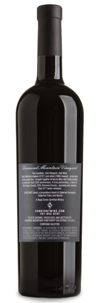 2007 Diamond Mountain Vineyard Red Blend by Constant - Winery