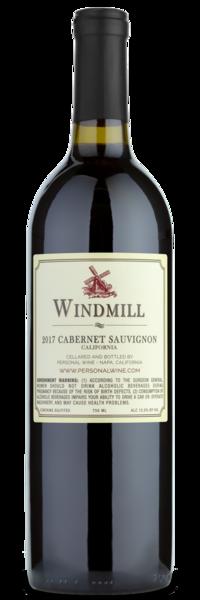 2017 Windmill Cabernet Sauvignon - Winery Back Label