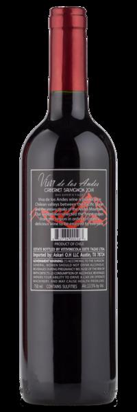 Viva de los Andes Cabernet Sauvignon - Winery
