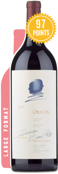 2013 Opus One Magnum - Winery Front Label