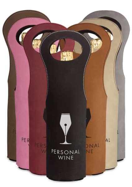 Leatherette Wine Bags