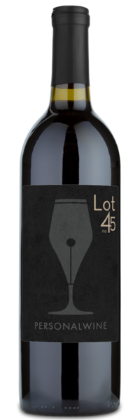 Lot 45 - Winery Front Label