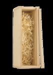 Single Bottle Pine Box for Wine - Open