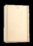 Double Bottle Wood Baltic Birch Box - Blank