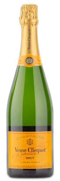 Veuve Clicquot Ponsardin Brut Champagne - Wine Gift Front Label