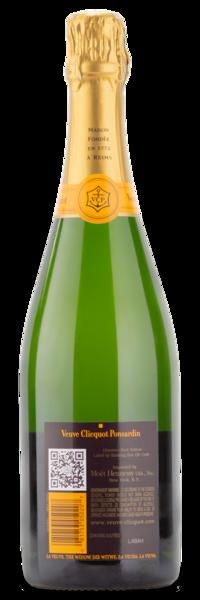 Veuve Clicquot Ponsardin Brut Champagne - Wine Gift Back Label
