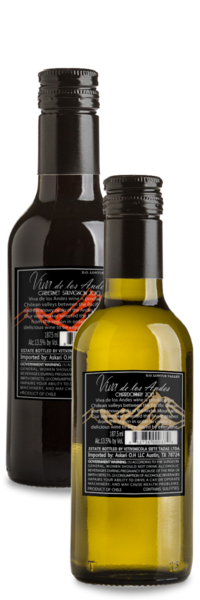Viva Mini Bottle Mixed Pack (12 Red, 12 White) - Winery